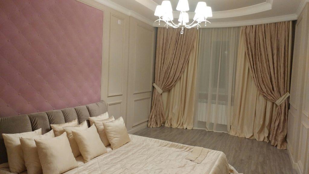 Шторы для спальни Алматы